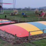 Two Jumping Pillows Installed at Rand Farm Park in Lincoln